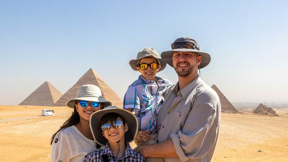 How to Travel the World with Young Kids!